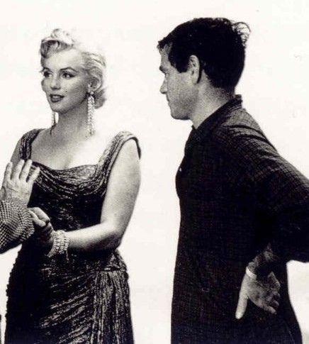 Photo ~ Marilyn Monroe & Milton H. Greene.